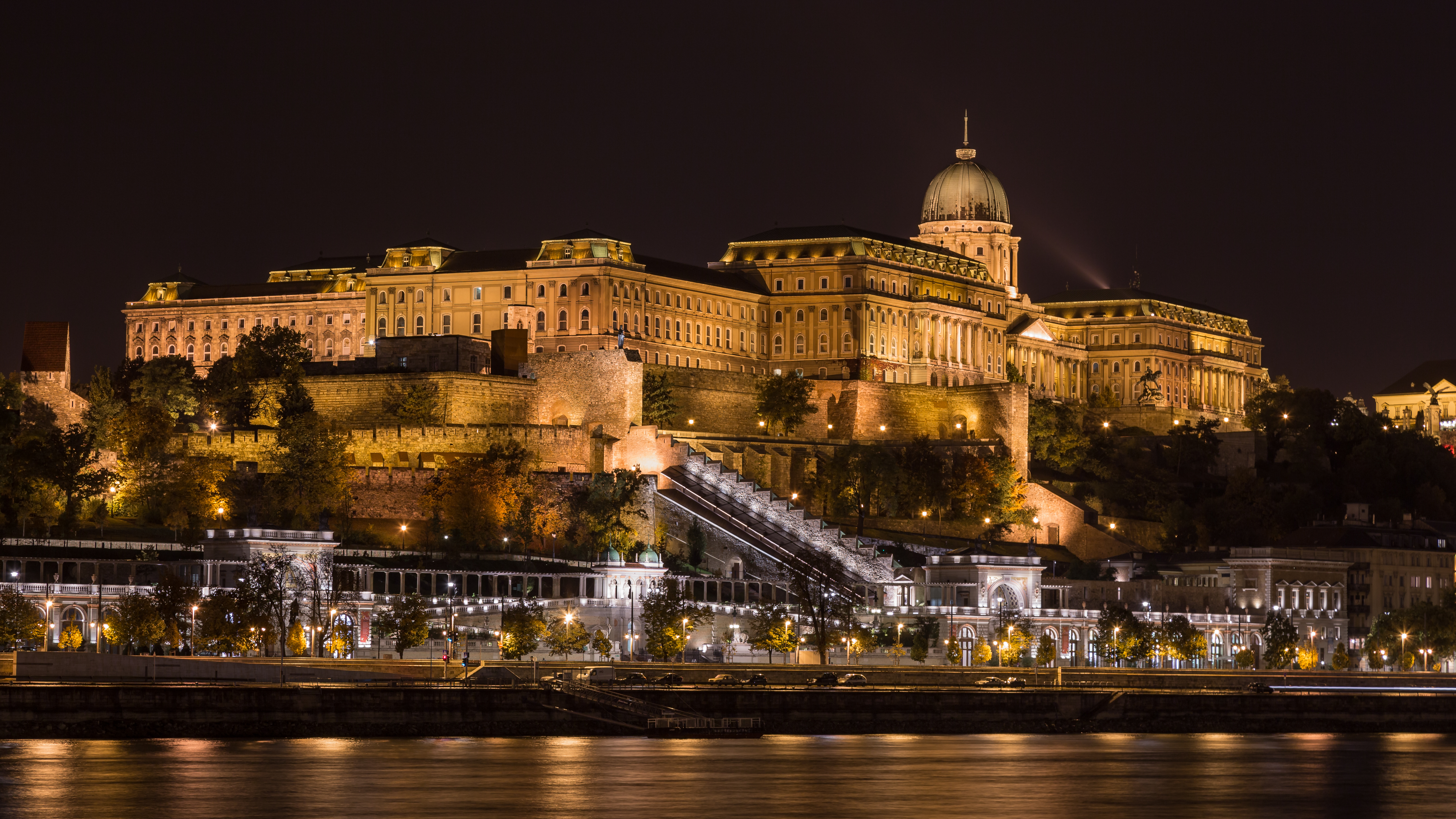 Buda Castle and Castle Garden Bazaar • Budapest, Hungary