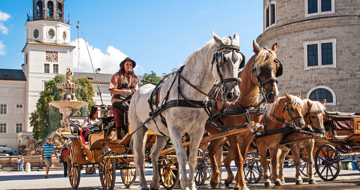 Carriage with Horses • Salzburg, Austria
