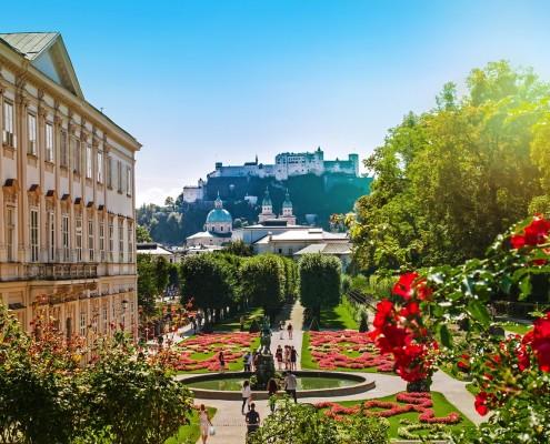 Mirabell Garden • Salzburg, Austria