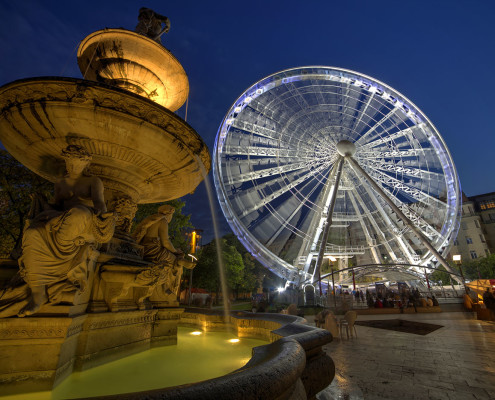 Ferris Wheel / Budapest Eye • Budapest, Hungary