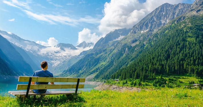 High Peaks of Alps • Zillertal, Austria