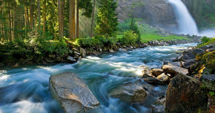 Krimml Waterfall • Hohe Tauern National Park, Tirol, Austria