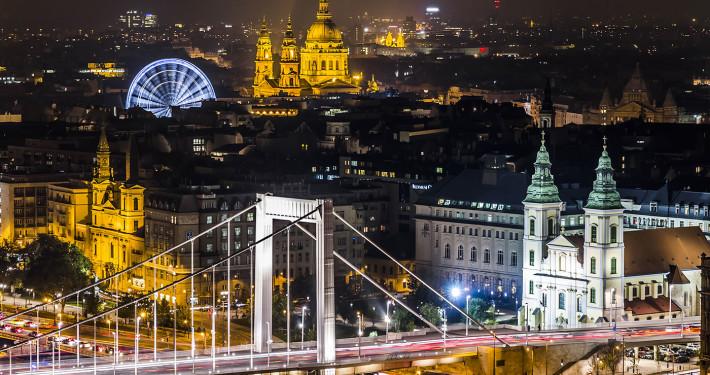 Panoramic View on Pest • Budapest, Hungary