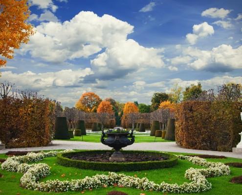 Schönbrunn Garden • Vienna, Austria