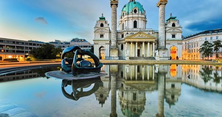 St. Charles's Church (Karlskirche) • Vienna, Austria
