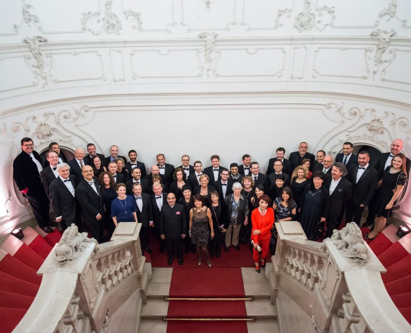 Euromic AGM Wenckheim Palace Group Photo • Budapest, Hungary