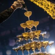 Champagne Tower • Budapest, Hungary