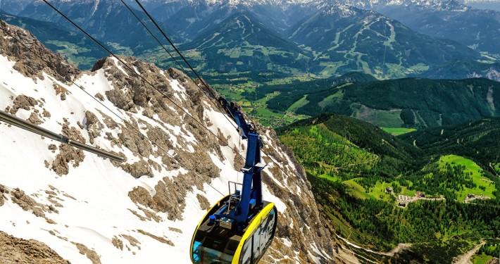 Cable Car • Dachstein Glacier, Austria