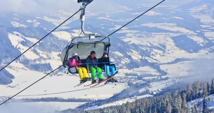 Chairlift (Ski Resort) • Schladming, Austria