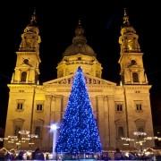 Christmas Fair at Szent István Square • Budapest, Hungary