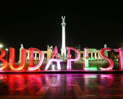 Heroes' Square • Budapest, Hungary