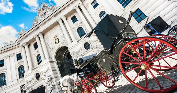 Fiaker at Hofburg Palace • Vienna, Austria