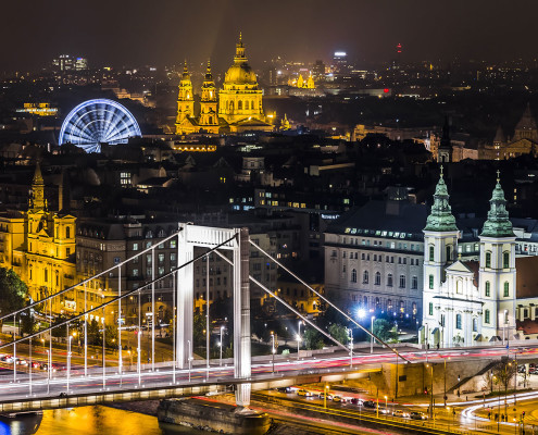 Panoramic View on Pest • Budapest, Hungary