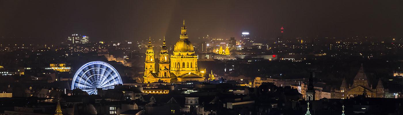 Panoramic View Pest • Budapest, Hungary